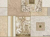 Обои виниловые супер мойка Янтарь 5743-01 бежевый мрамор, фото 1