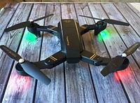 ОРИГИНАЛ! Складной квадрокоптер профессиональный с подсветкой Phantom D5H с WiFi камерой, дрон