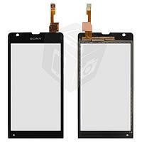 Touchscreen (сенсорный экран) для Sony Xperia SP C5302/C5303, оригинал (черный)