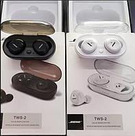 Оригинал! Качественные Вакуумные Беспроводные блютуз наушники Bose TWS 2. Лучшая Цена!