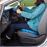 Оригинал! Ортопедическая гелевая подушка для разгрузки позвоночника Egg Sitter для автомобиля