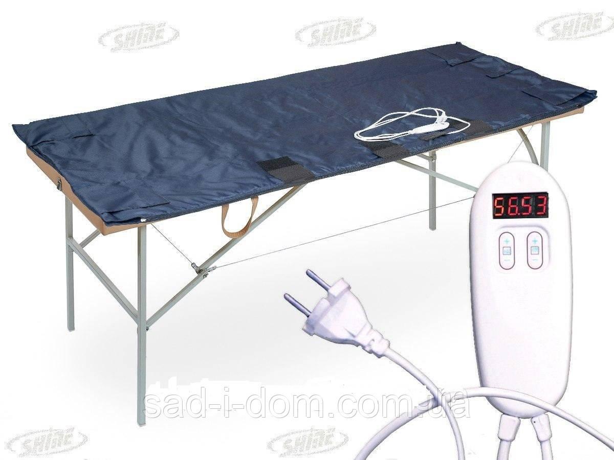 Электроодеяло двух-зонное для обертываний TM Shine 180х180 см