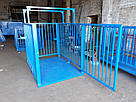 Весы для взвешивания животных VTP-G-1020 1000×2000 мм с оградкой 1500 мм, фото 3