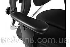 Кресло для врача Barsky BHN-01 Hara Nietzsche, черное, с вешалкой для одежды, фото 2