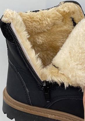 Черевики жіночі зимові 8 пар в ящику сірого кольору 36-41, фото 3
