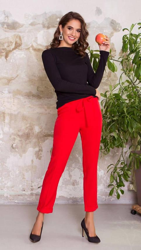 Женская трикотажная кофточка черного цвета, 54, фото 2