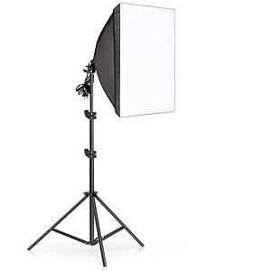 Софтбокс 50 x 70см. Постійний студійне світло на 4 лампи + стійка