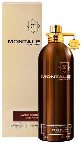 Парфумована вода унісекс Montale Aoud Musk 100ml