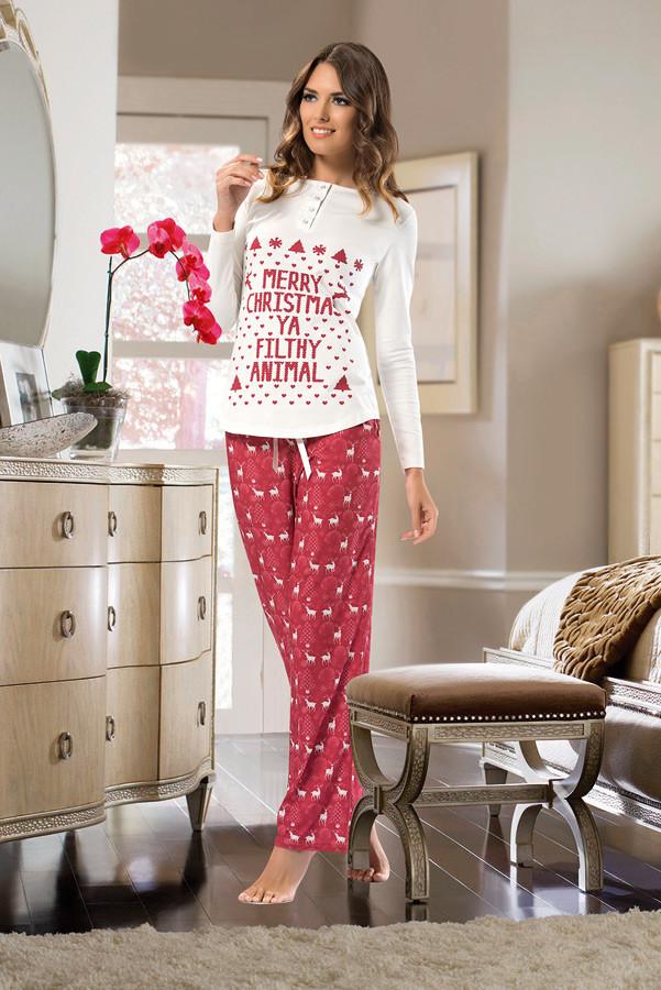 Пижамы женские с брюками