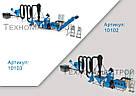 Оборудование для производства пеллет и комбикорма МЛГ-1000 COMBI (производительность до 700 кг\час), фото 2
