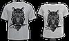 """Парные футболки """"Совы"""""""