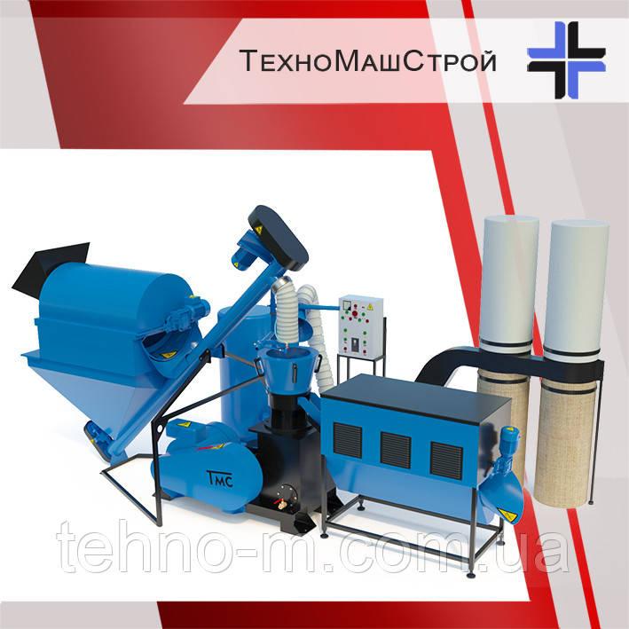 Оборудование для производства пеллет и комбикорма МЛГ-1000 COMBI+ (производительность до 700 кг\час)