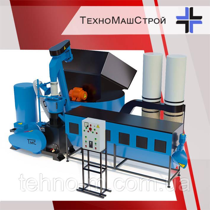 Оборудование для производства пеллет и комбикорма МЛГ-1500 COMBI+