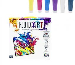 Набор для творчества Fluid art Dankotoys