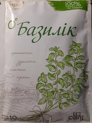 Базилік сушений різаний без солі 10 грам