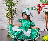 Платье детское подснежника