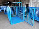 Весы для взвешивания животных VTP-G-1520 1500×2000 мм с оградкой 1500 мм, фото 3