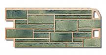 Камень Малахит. Фасадные панели. Цокольный сайдинг.