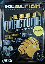 Пластилин Real Fish Ананас 0,5кг