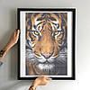 Схема для вишивки бісером Тигр