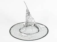 Шляпа карнавальная Паутина Паук серебристый