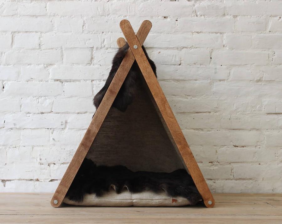 КІТ-ПЕС by smartwood Домик для кошки кота Будка для кошки кота Спальное место