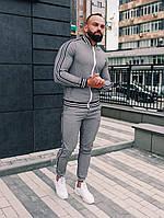 Спортивный мужской костюм Тру-тренер. Клетчатый спортивный костюм