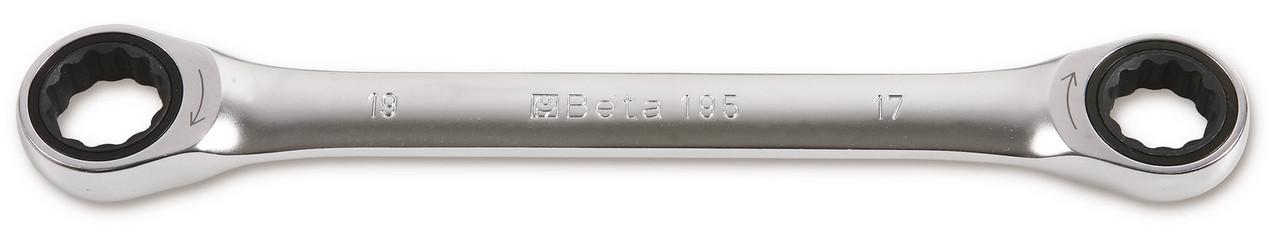 195 - Ключ накидний з трещіткою 8х10 мм