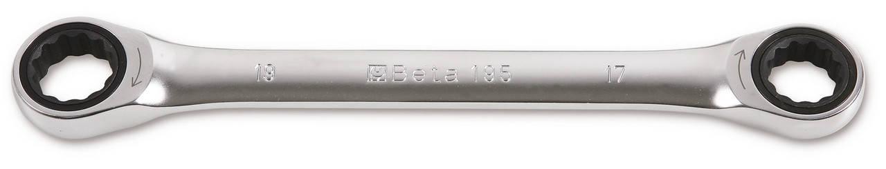 195 - Ключ накидний з трещіткою 8х10 мм, фото 2