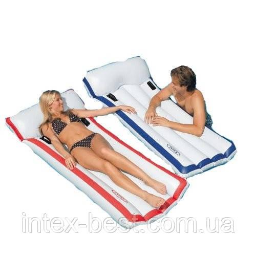 Надувной пляжный матрас Intex 58719