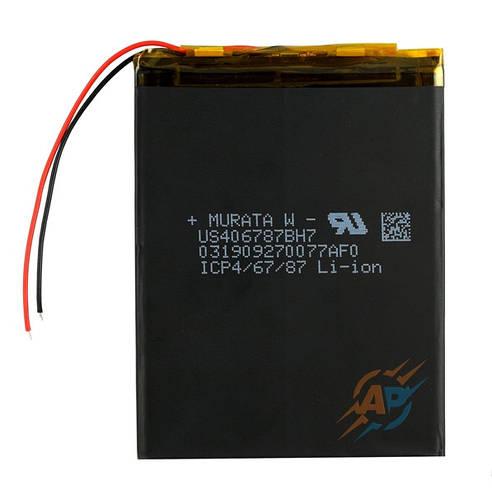 Аккумулятор литий-полимерный 3600mAh, 3.7v, 406785 MURATA с контроллером