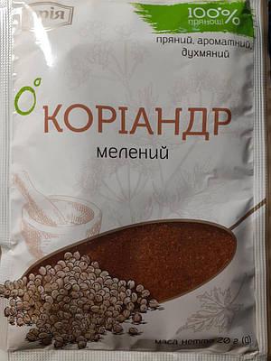 Кориандр молотый без соли 20 грамм