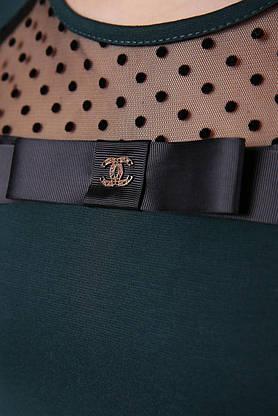 Модная женская кофточка зеленого цвета, S(44), фото 3