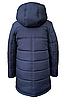 Удлиненная зимняя куртка для мальчика на овчине размеры 110-150, фото 7