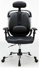 Офисный стул из ткани Barsky ER-01 Ergonomic black, фото 3