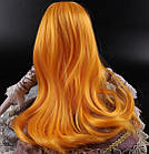 Парик для шарнирной куклы BJD 1/3, рыжий цвет волос, фото 3