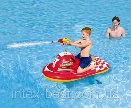 Детский надувной скутер Bestway 41071 с водным пистолетом, фото 2