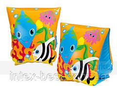 Детские надувные нарукавники рыбки Intex 58652