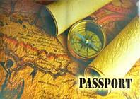 Обложка для паспорта 1 (компас)