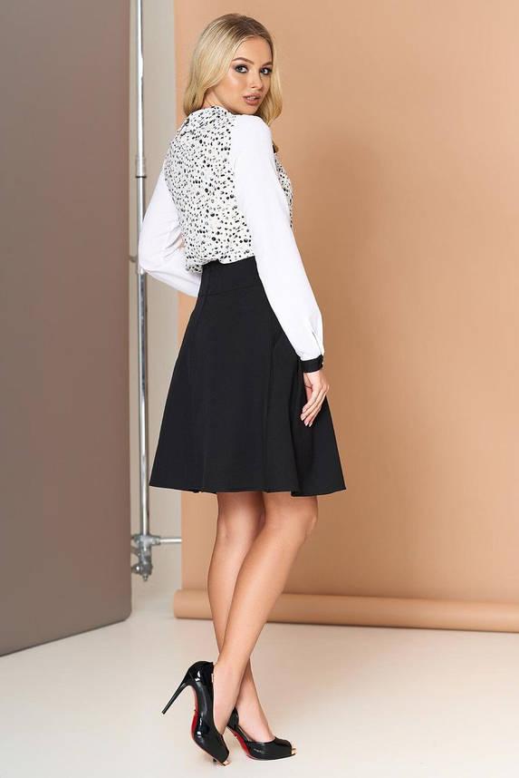 Пышная женская юбка черного цвета, XL(50), фото 2
