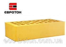 Кирпич лицевой Евротон (Желтый) М-250