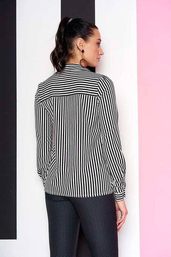 Офисная блузка в черную полоску, XL(50), фото 2