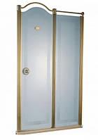 Душевая дверь с золотым профилем Devit Charlestone FEN2002MR (правая), 1200х1900 мм