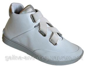 Женские ботинки высокие на шнуровке 6703R404
