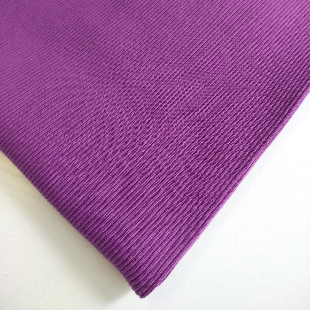 ткань трикотажная кашкорсе для трехнитки цвет фиолетовый.