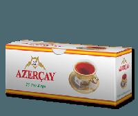 Чай в пакетиках черный Азерчай с ароматом Бергамота 25п.