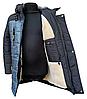 Модные зимние куртки и пуховики для мальчиков принтованные размеры 32-42, фото 8