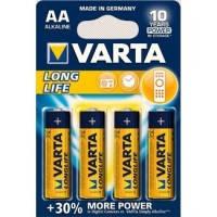 Батарейка VARTA LONGLIFE AA ALKALINE 4 шт.