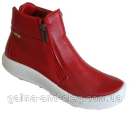 Женские ботинки без шнурков 3114R022