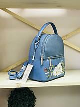 Рюкзак David Jones женский голубой, фото 2